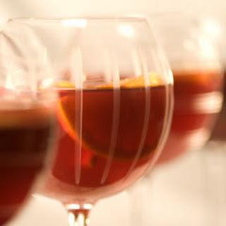 Sweetened Black Tea Sangria.