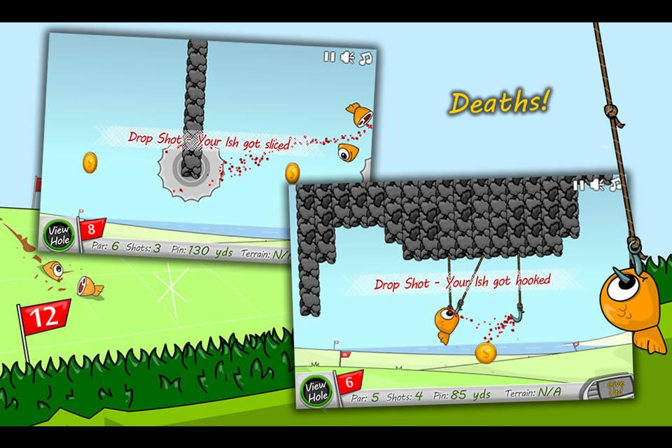 Crazy Golf Ish- screenshot