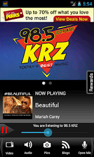 98.5 KRZ – Today's Best Music - screenshot thumbnail