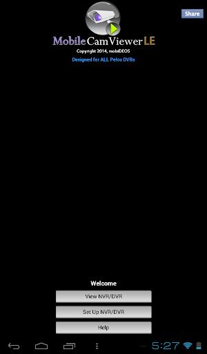 MCV Tablet for all PELCO DVRs
