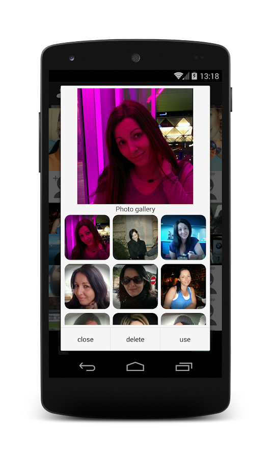 Contact Photo Sync- screenshot