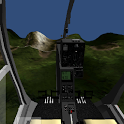 Helicopter simulator icon