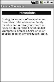 Pinnacle Chiropractic- screenshot thumbnail