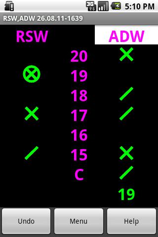 Cricket Scorepad- screenshot