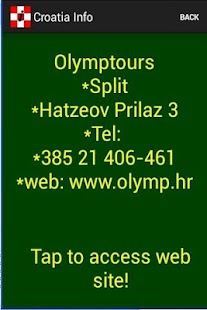 Croatia Info - screenshot thumbnail