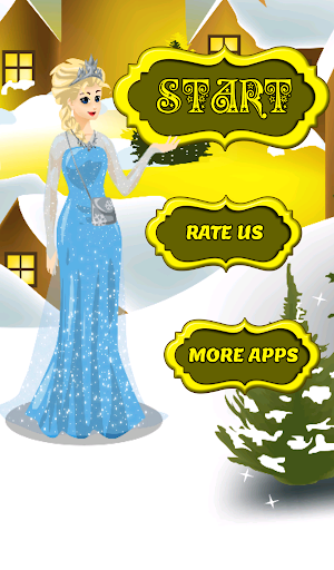 Frozen Princess Dress up