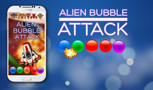 Alien Bubble Attack Shooter