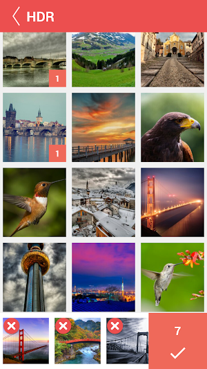 7 Collage Photo Maker Pic Grid App screenshot