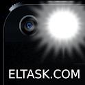 Stylish flashlight & SOS icon