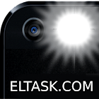 Flashlight for adults, night light and SOS signal icon