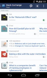 Stack Exchange - screenshot thumbnail