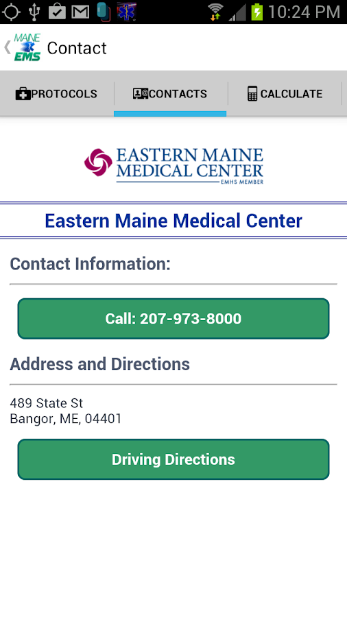 Maine EMS- screenshot
