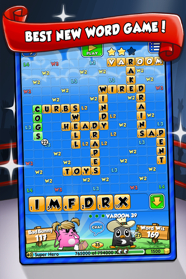 Word Chums - screenshot
