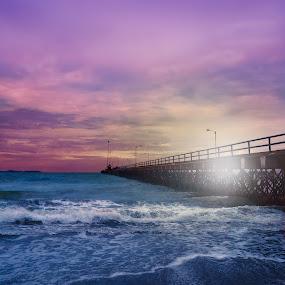 Sunshine by Jorge Madrigal - Landscapes Beaches ( beaches, sky, nature, sunset, landscape photography, sunshine, sunrise, landscape, natural, ocean view,  )