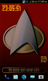 Star Trek Multicolor Live 3D - screenshot thumbnail