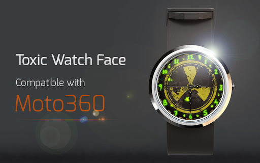 Toxic Watch Face