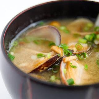 Asari Miso Soup.