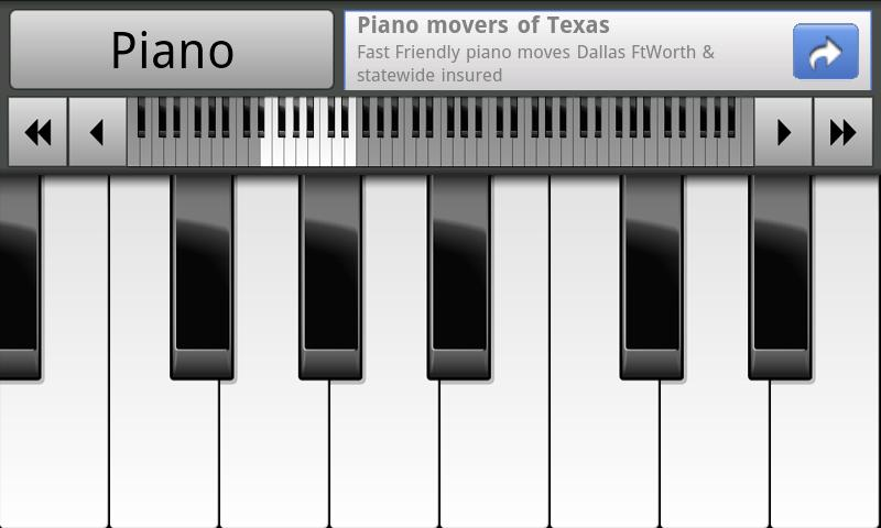 Musical Piano - screenshot
