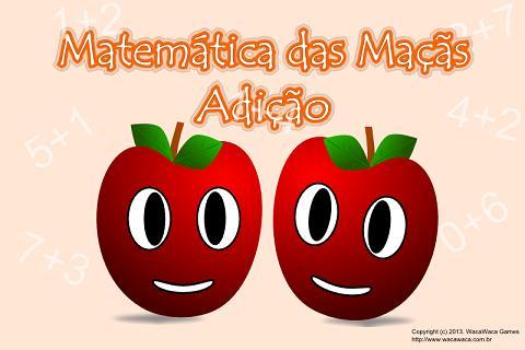 Matemática para Crianças Soma