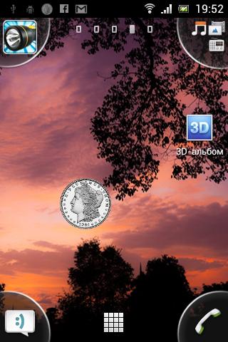 Lucky : Coin Widget