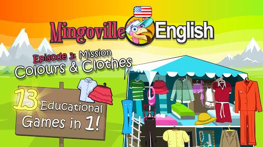 玩免費教育APP|下載兒童英語 3: Mingoville中的'顏色和衣服' app不用錢|硬是要APP