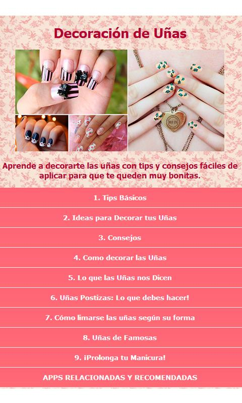 Decoracion de Uñas - screenshot