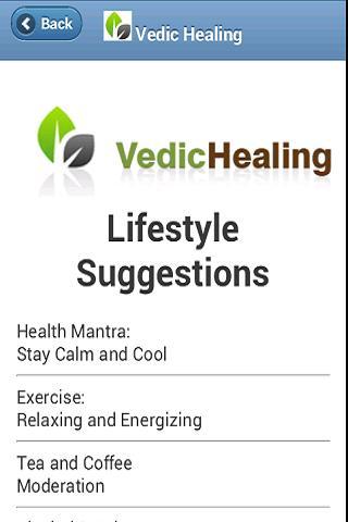 Vedic Healing- screenshot