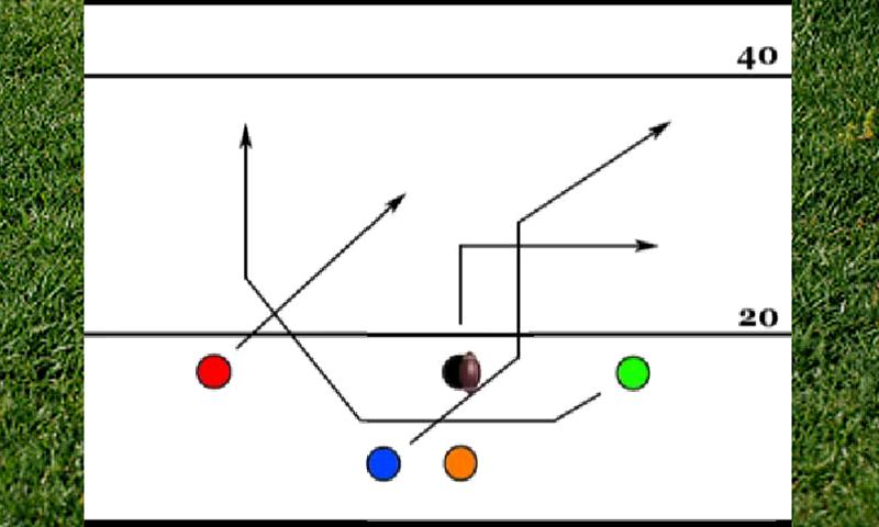 Youth football playbooks