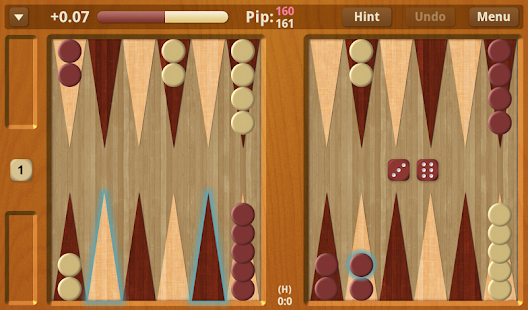 Backgammon NJ for Android - screenshot thumbnail