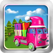 Gift Truck-Rush Hour-Kids Game