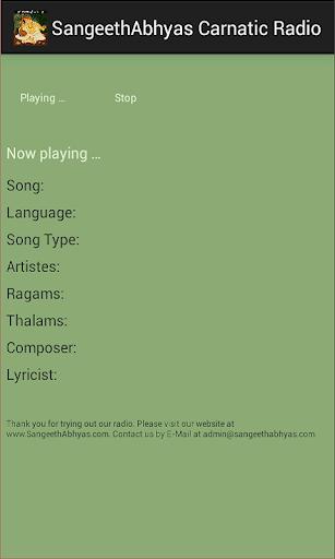 SangeethAbhyas Carnatic Radio