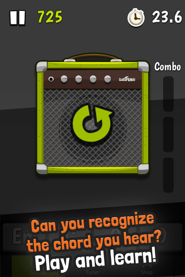 Guitar Tuner Free - GuitarTuna - screenshot