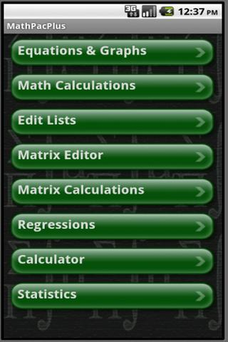Graphing Calculator - MathPac+ - screenshot