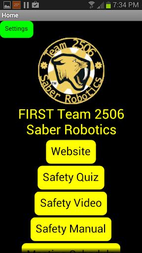 Saber Robotics Team 2506