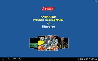 Screenshot of Diabetes - Medical Dictionary