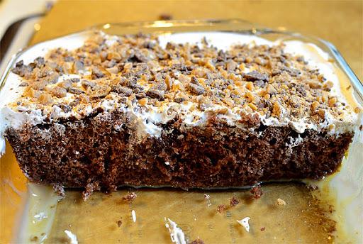 German Chocolate Cake With Sweetened Condensed Milk