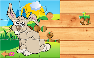 Screenshot of 20 Barnyard Puzzles for Kids