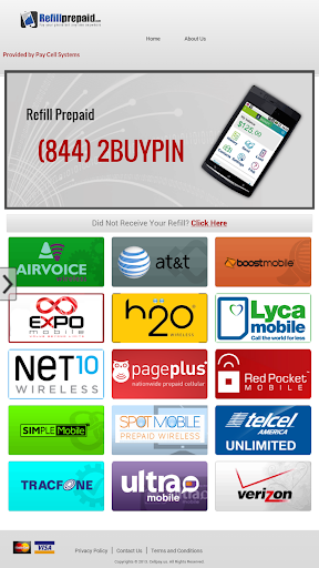 Wireless Refill Prepaid