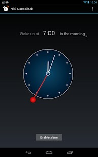 NFC Alarm Clock - screenshot thumbnail