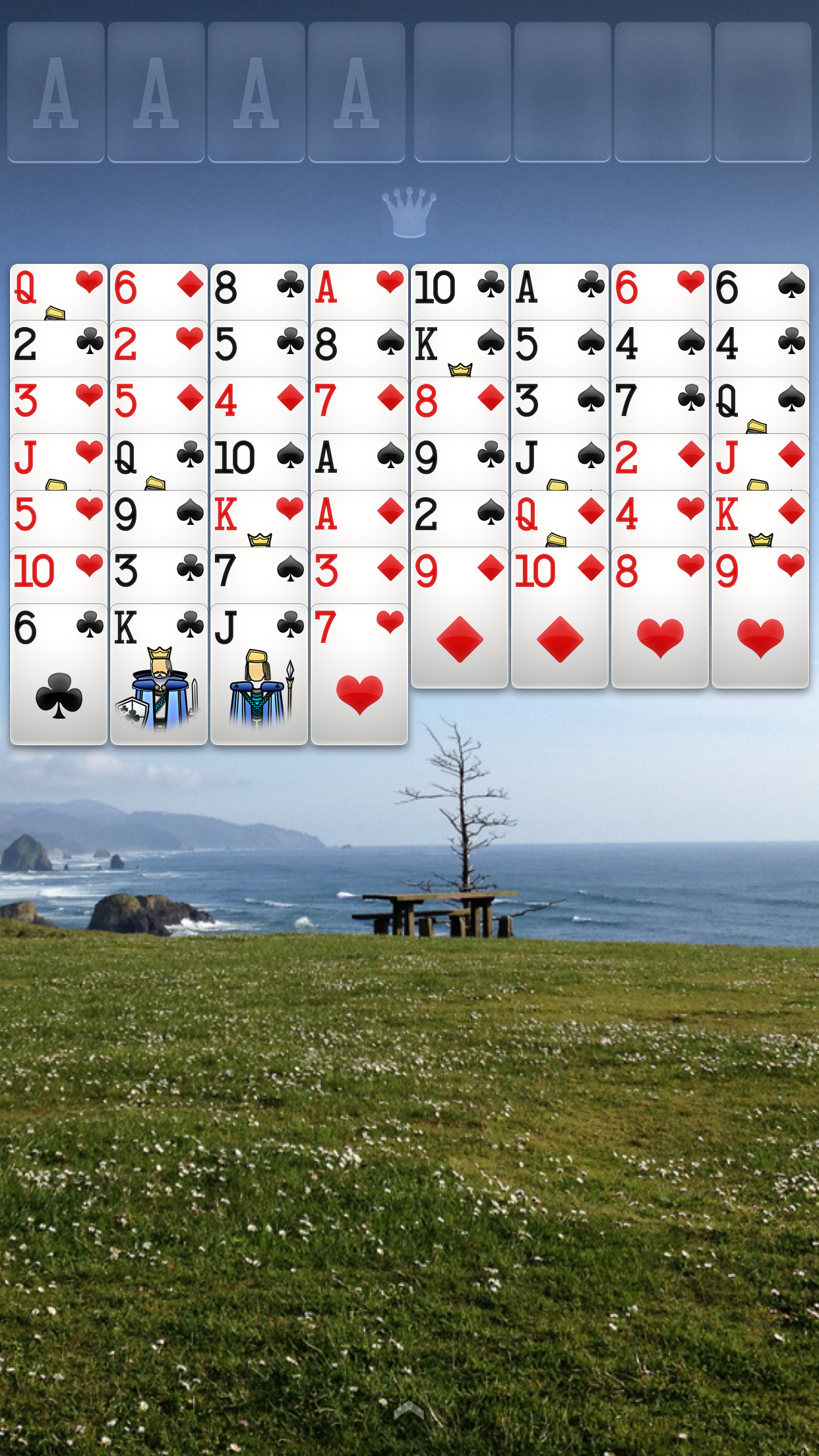 FreeCell Solitaire screenshot #3