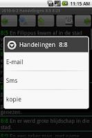Screenshot of Dutch Bible Bijbel Statenverta