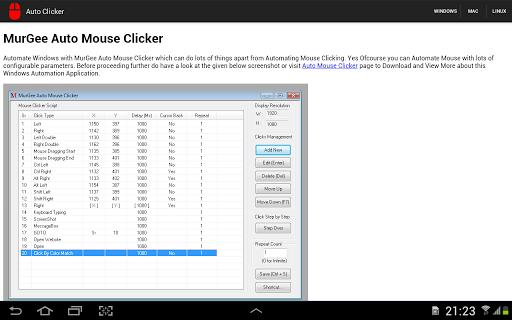 Auto Clicker【生產應用APP玩免費】-APP點子