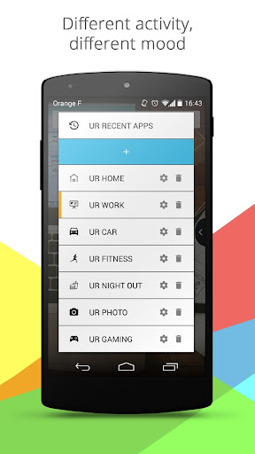 UR Mood Launcher—Be Organized