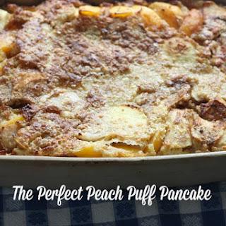 Peach Puff Pancake