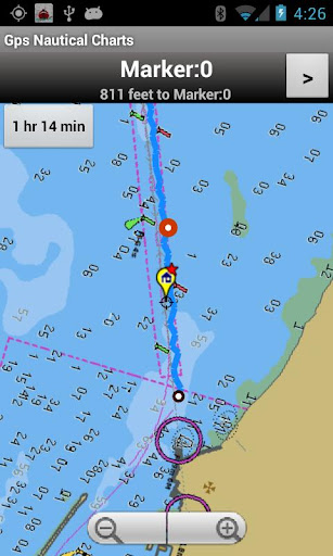 Marine Navigation Chart-Canada