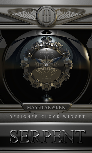 Clock Widget Serpent