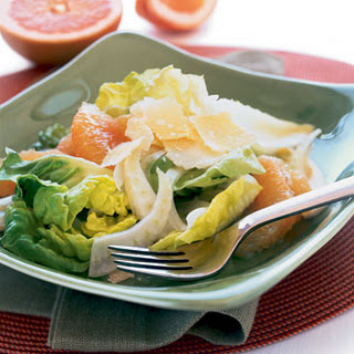 Pink Grapefruit, Fennel, and Parmesan Salad