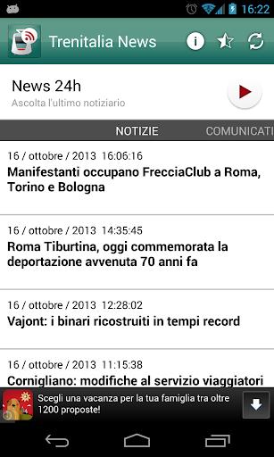 Trenitalia news
