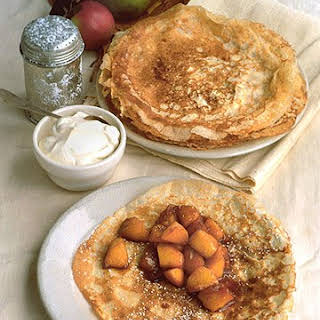 Caramelized Apple Crepes.
