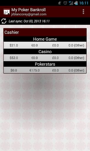 My Poker Bankroll